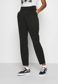 ONLY - PANTS - Trousers - black - 0