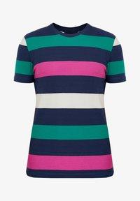 Finn Flare - Print T-shirt - dark blue - 6