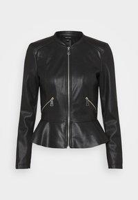 VMAVERYALLY JACKET - Faux leather jacket - black