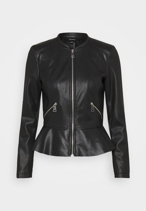 VMAVERYALLY JACKET - Giacca in similpelle - black