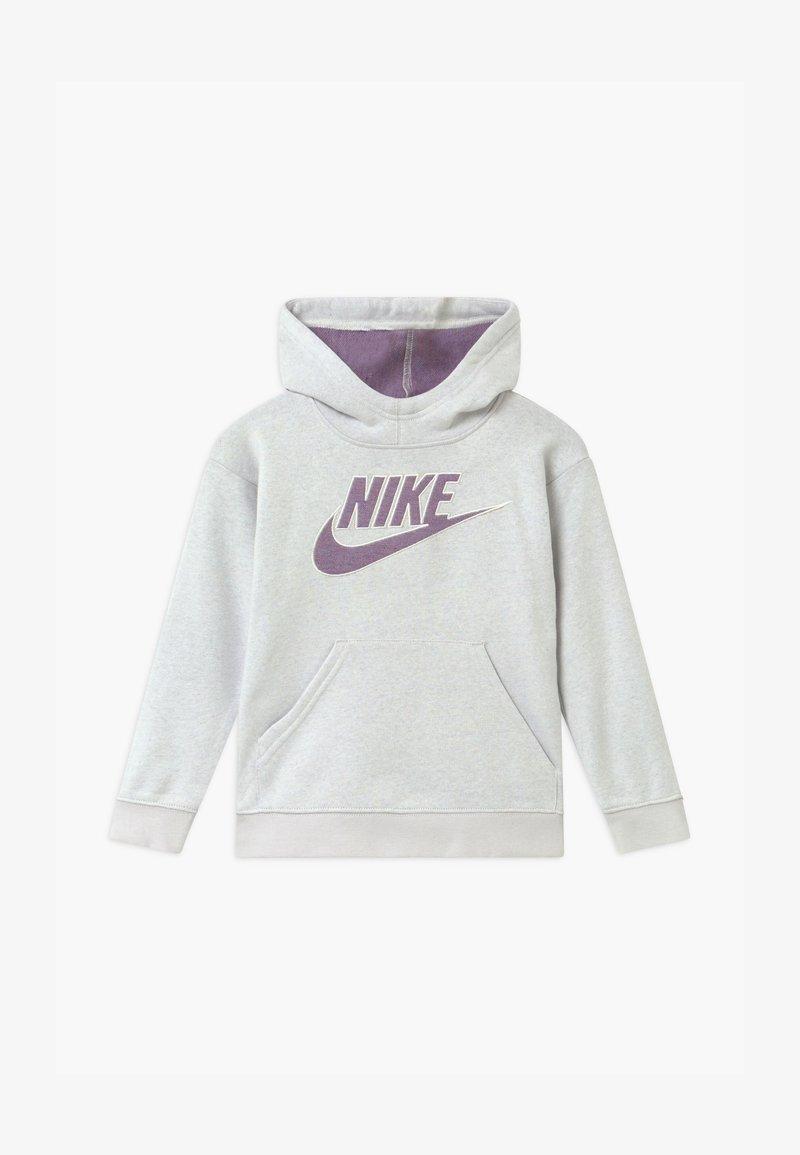 Nike Sportswear - HOODIE - Hoodie - mottled grey