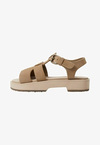 LARA - Sandals - sandfarben