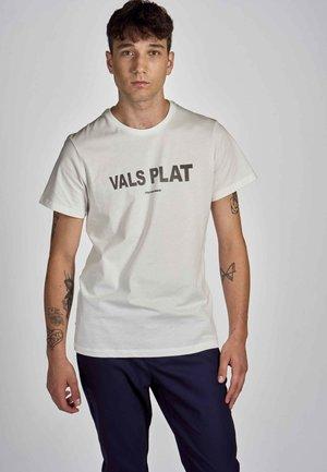 T-shirt print - vanilla