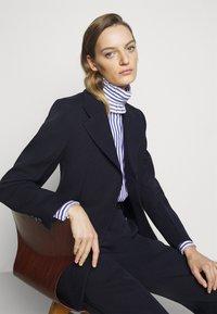 Victoria Beckham - Blouse - blue/white - 5