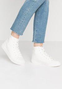 Even&Odd - Sneakers hoog - white - 0