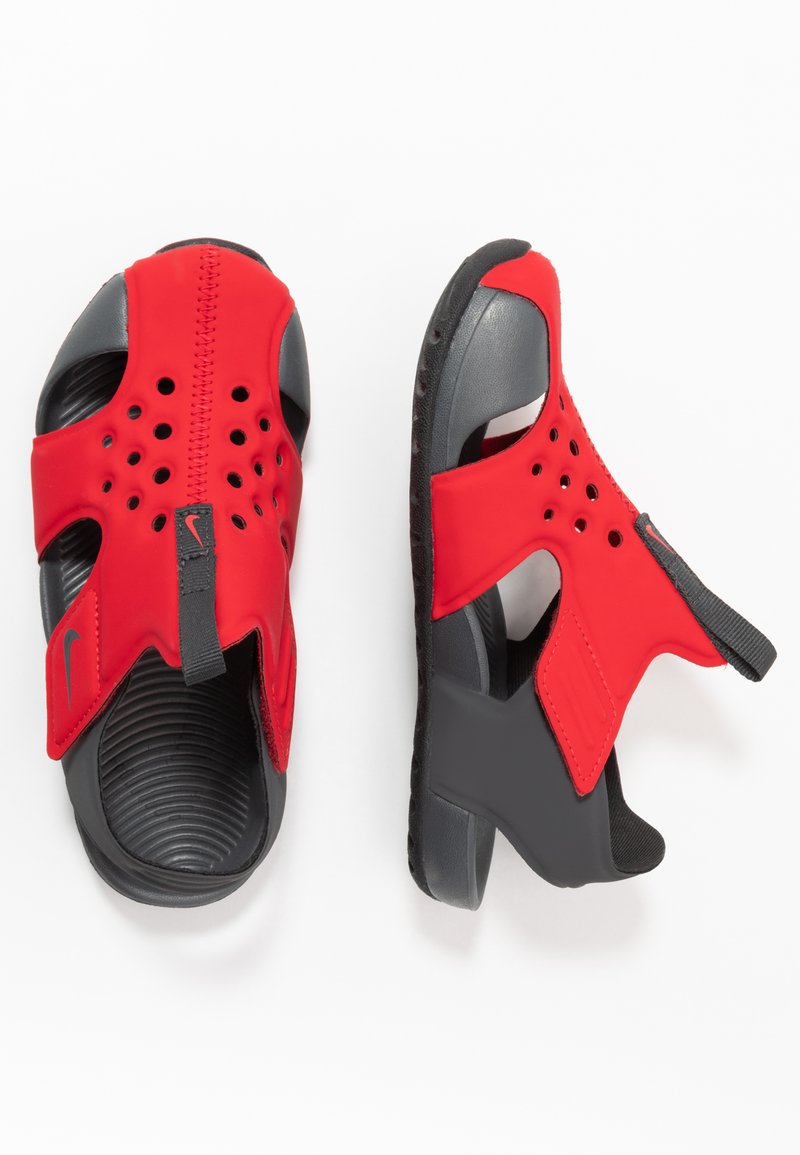 Nike Performance - SUNRAY PROTECT 2 UNISEX - Sandály do bazénu - university red/anthracite/black