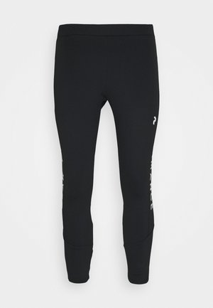 RIDER PANTS - Trousers - black