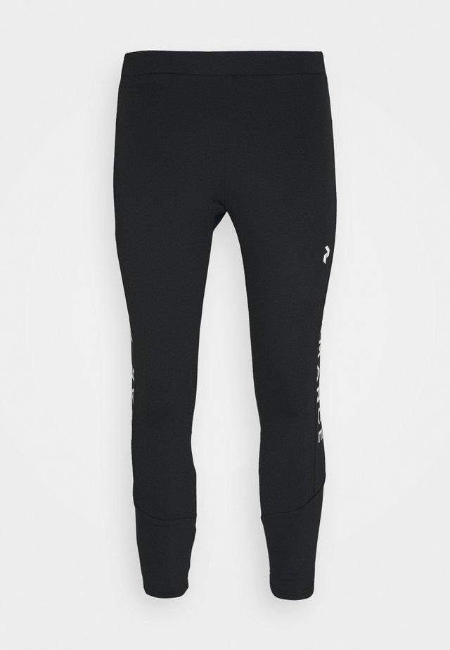 RIDER PANTS - Stoffhose - black
