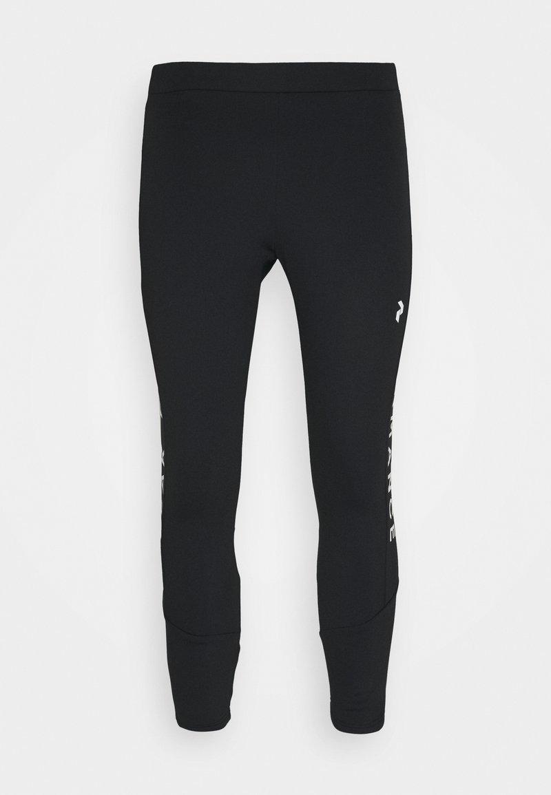 Peak Performance - RIDER PANTS - Kalhoty - black