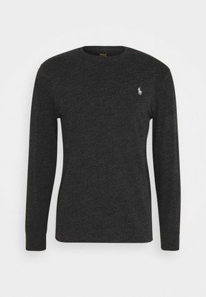 Long sleeved top - black marl