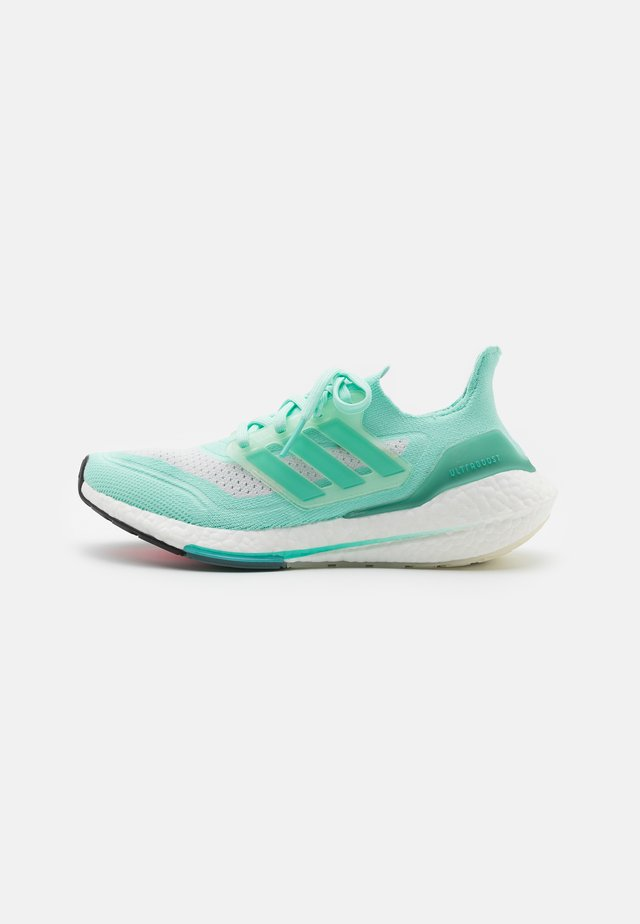 ULTRABOOST 21 - Neutral running shoes - clear mint/acid mint/crystal white