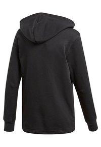 adidas Performance - veste en sweat zippée - black - 1