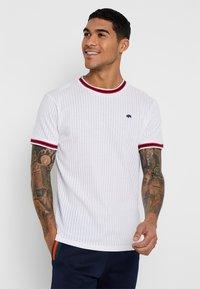 Bellfield - SPORTS RIB RAGLAN - Print T-shirt - white - 0