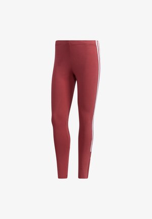 RUNNING - TEXTIL - LANG NEW AUTHENTIC 7/8 TIGHT  - Medias - rot
