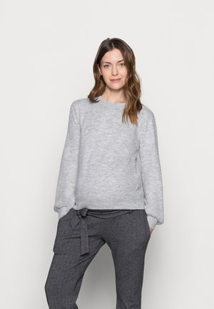 PCMPERLA - Jumper - light grey melange