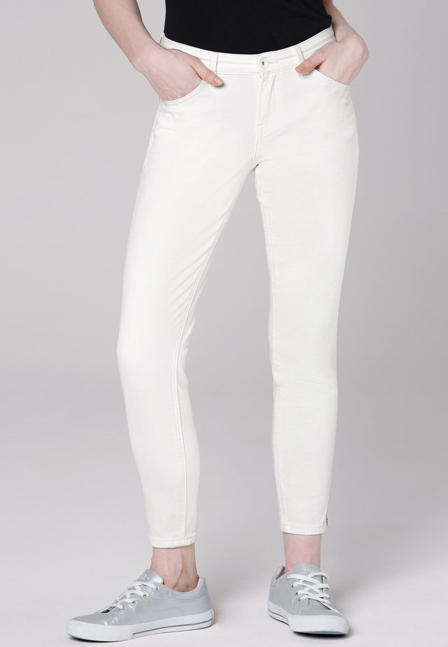 Slim fit jeans - cotton white
