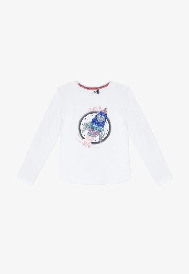 GRAPHIC - Camiseta de manga larga - white