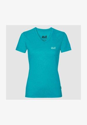 CROSSTRAIL - Basic T-shirt - dark aqua
