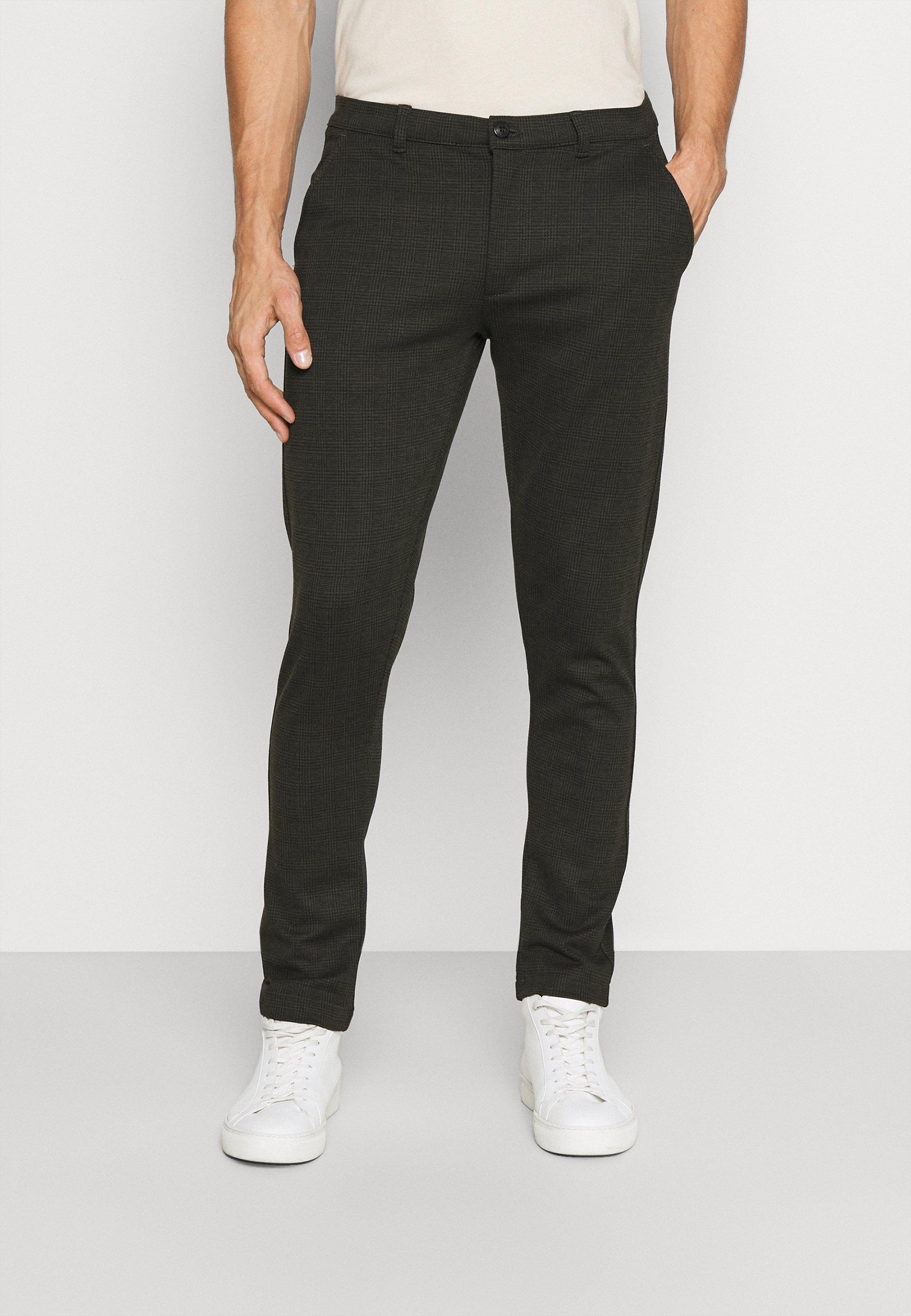 Uomo BARRO CHECK PANT - Pantaloni