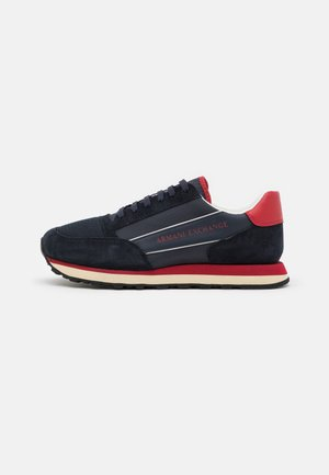 OSAKA  - Trainers - navy/fire brick/offwhite