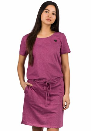 SIGNE  - Jersey dress - violet quartz