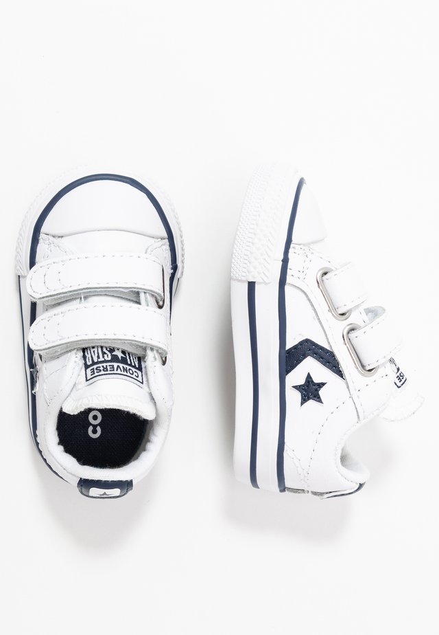 STAR PLAYER - Sneakersy niskie - white/navy