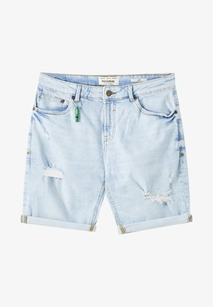 Jeansshorts - blue-grey