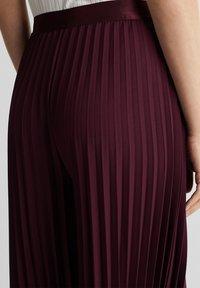 Esprit Collection - CULOTTE - Trousers - bordeaux red - 3