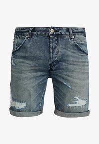 Scotch & Soda - PHAIDON - Denim shorts - sand and sea - 4