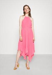 MICHAEL Michael Kors - HALTER CHAIN - Cocktail dress / Party dress - blush pink - 0