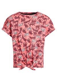 WE Fashion - Print T-shirt - pink - 6