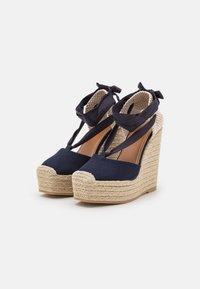 Polo Ralph Lauren - Platform sandals - navy - 2