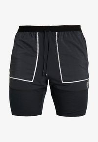 Nike Performance - M NK SHORT 7IN FUTURE FAST - Pantalón corto de deporte - black/dark smoke grey/reflective silver - 6