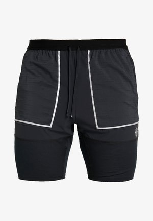 M NK SHORT 7IN FUTURE FAST - Träningsshorts - black/dark smoke grey/reflective silver