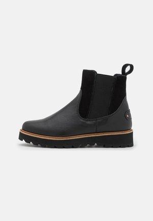 MARREN - Platform ankle boots - black