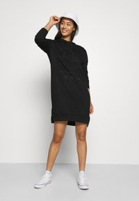 G-Star - GRAPHIC TEXT DRESS - Day dress - black - 1