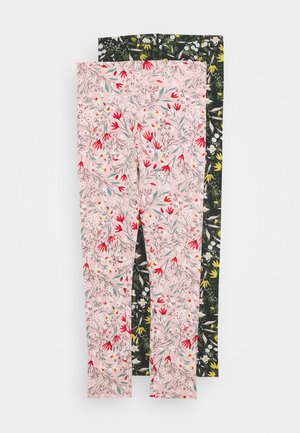 NMFKAMILLA 2 PACK - Leggings - Trousers - coral blush