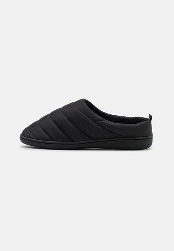 Pantuflas - schwarz