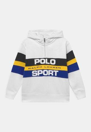 QUARTER ZIP - Sweatshirt - white