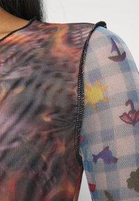 NEW girl ORDER - SPLICED PATCHWORK - Long sleeved top - multi - 5