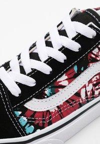 Vans - OLD SKOOL EXCLUSIVE - Sneakers laag - black/multicolor/true white - 5