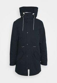 CARVER - Zimní kabát - navy