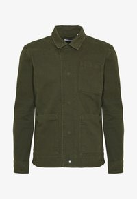 Knowledge Cotton Apparel - PINE HEAVY - Summer jacket - forest night - 4