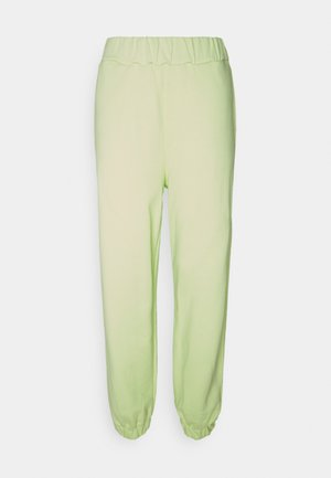 EMILIE MALOU X  NA-KD SOFT PANTS - Tracksuit bottoms - lime