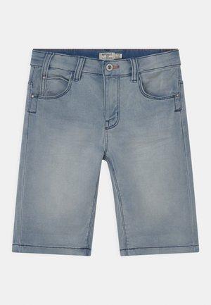 Denim shorts - medium light blue
