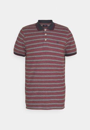 JPRBLUWIN LIGHT STRIPE - Polo shirt - ebony