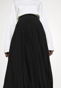 Anna Field Tall - Áčková sukně - black - 5