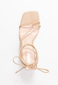 BEBO - RICHIE - Sandały na obcasie - nude - 3