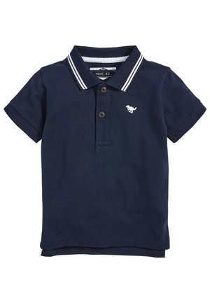 SHORT SLEEVE - Polo shirt - dark blue