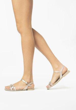 Sandals - rosa antico